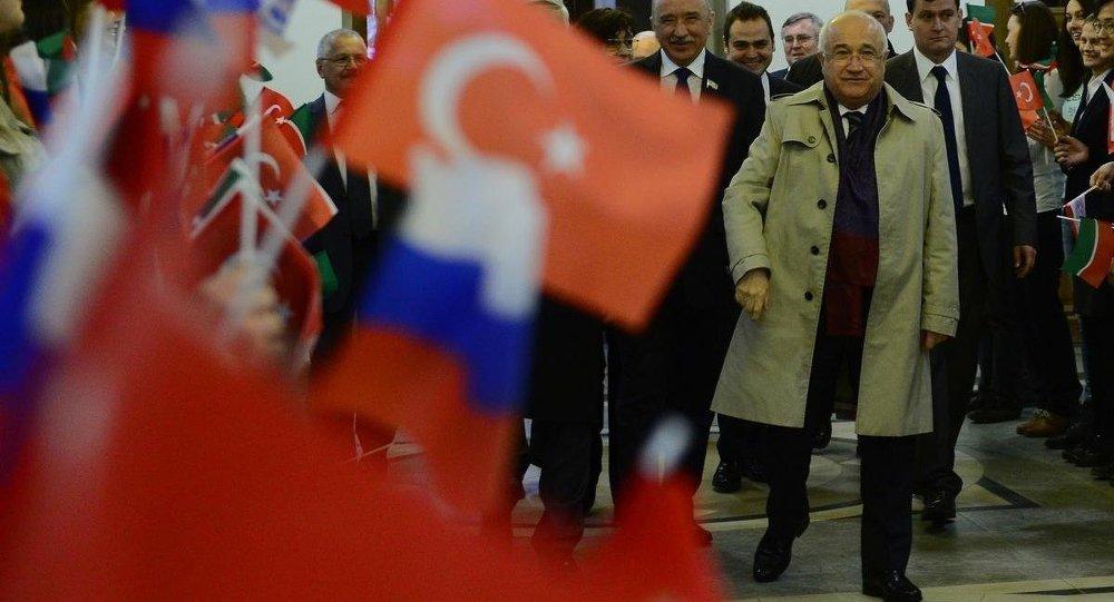 Cemil Çiçek, Kazan Federal Üniversitesi'nde