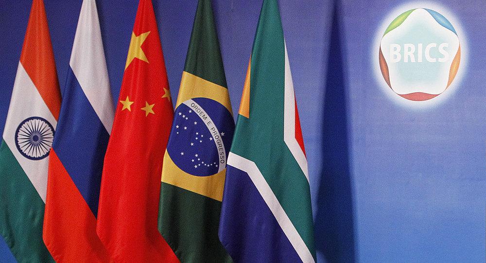 BRICS zirvesinde bayraklar karıştı