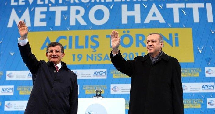 Recep Tayyip Erdoğan-Ahmet Davutoğlu
