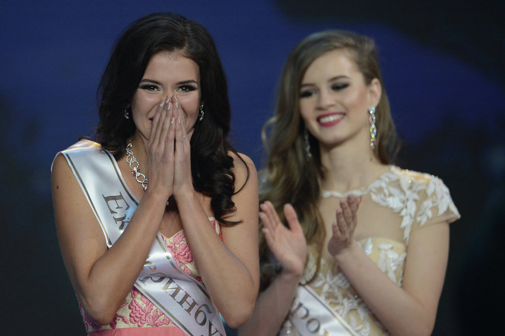 Miss Russia 2015 on