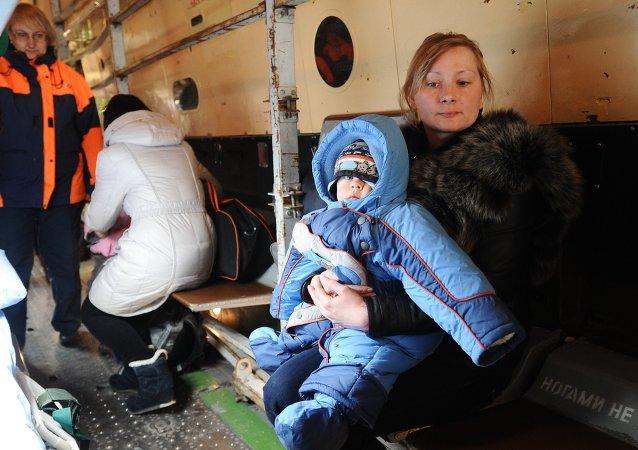 Ukraynalı sığınmacılar