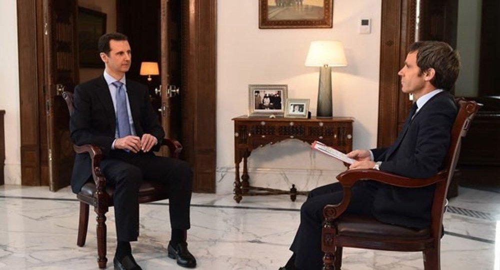 Suriye Devlet Başkanı Beşar Esad, France 2 televizyon kanalına röportaj verdi.