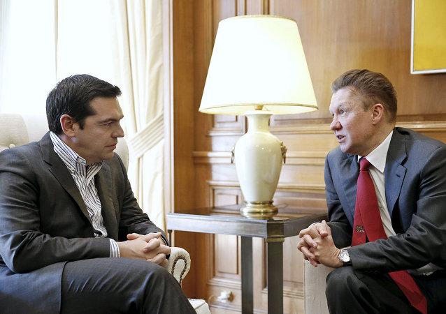 Aleksis Çipras & Aleksey Miller