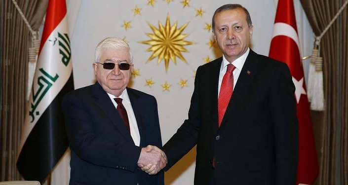 Recep Tayyip Erdoğan & Fuad Masum