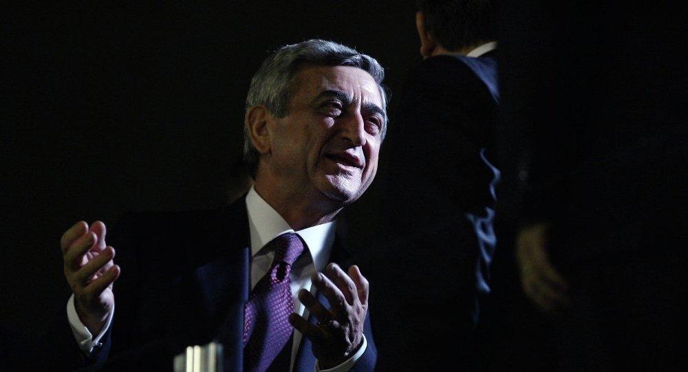 Ermenistan Devlet Başkanı Serj Sarkisyan