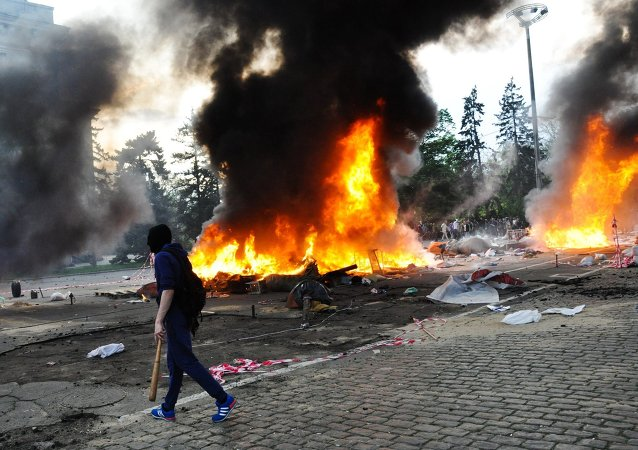 Odessa kentinde 48 kişinin öldüğü sendika binası katliamı