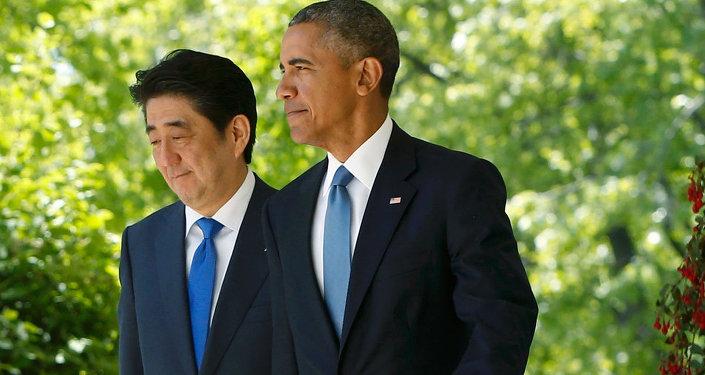 Barack Obama & Şinzo Abe
