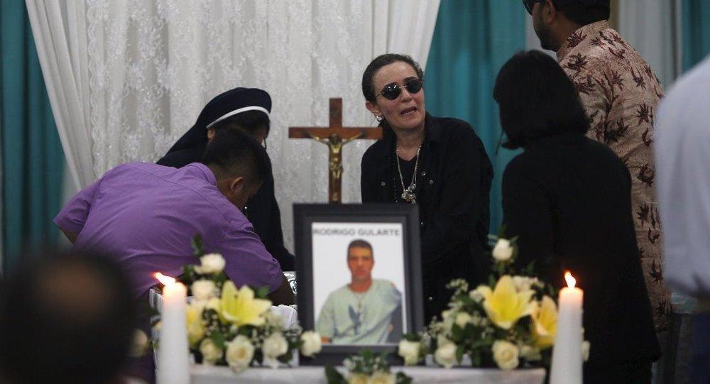 Endonezya'da kurşuna dizilen 8 mahkumdan Rodrigo Muxfeldt Gularte