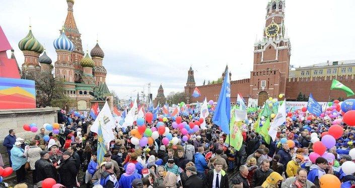 Rusya'da 1 Mayıs