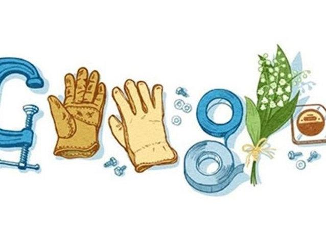 Google'ın 1 Mayıs Doodle'ı