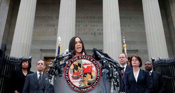 Baltimore Başsavcısı Marilyn Mosby