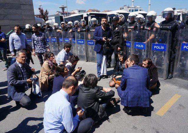 İstanbul Adliyesi'nde gerginlik