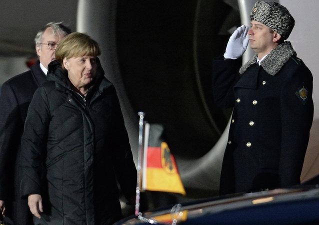 Angela Merkel, Moskova'da