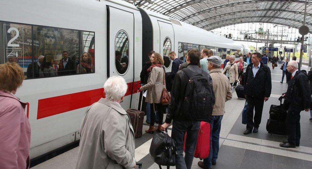 Almanya'da makinistlerin grevi