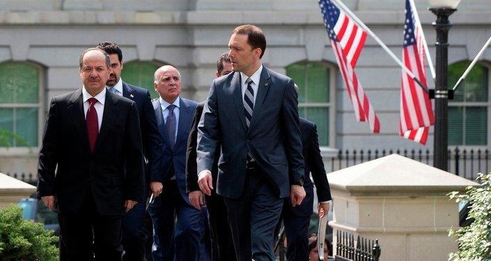 IKBY Başkanı Mesud Barzani ABD'de