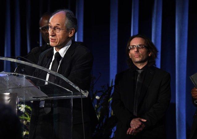 Charlie Hebdo çalışanları Jean-Baptiste Thoret- Gerard Biard