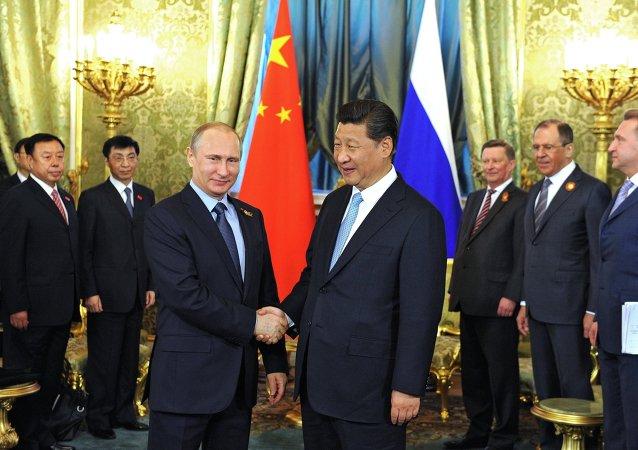 Çin Devlet Başkanı Şi Jinping ve Rusya Devlet Başkanı Vladimir Putin