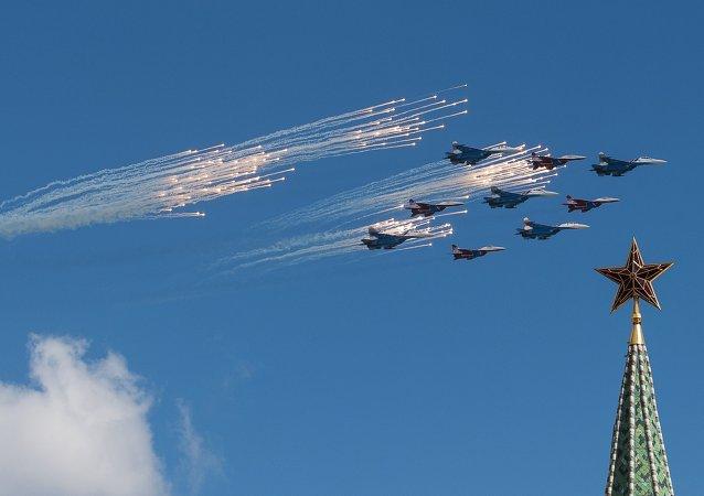 Su-27 tipi ve MiG-29 tipi avcı uçakları