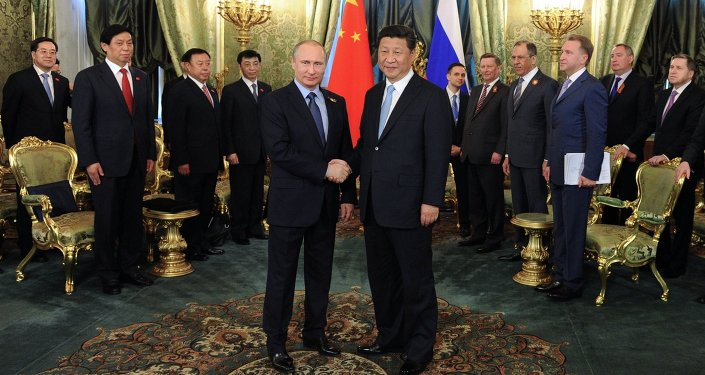 Vladimir Putin & Şi Cinping