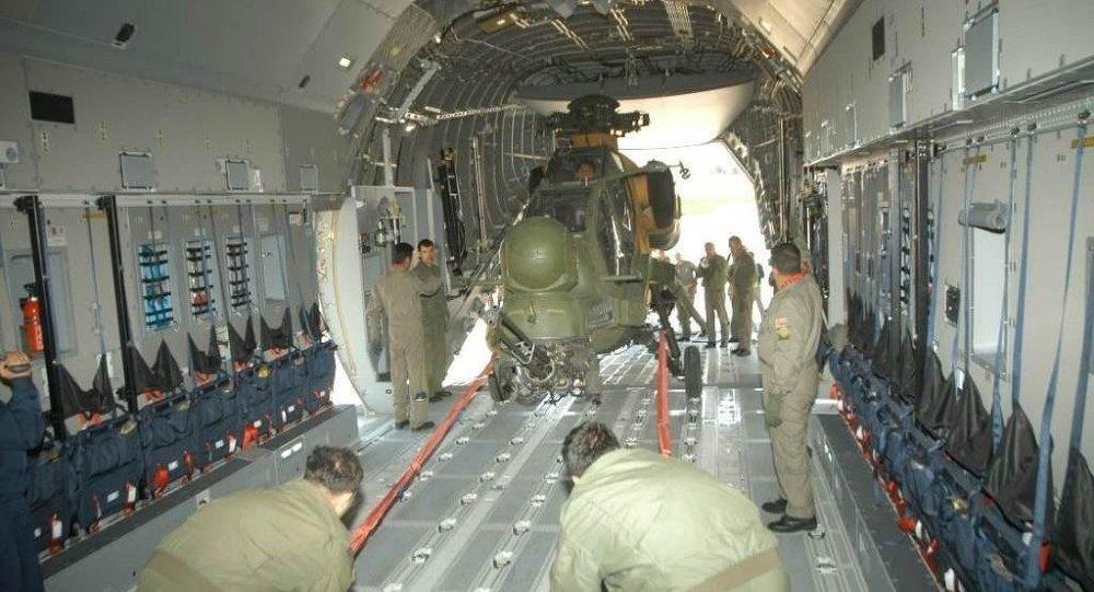 Hava Kuvvetleri Komutanlığı'nın nakliye uçağı A 400M