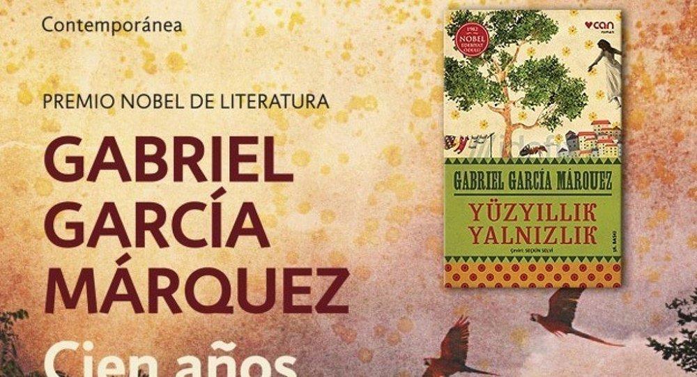 Gabriel Garcia Marquez'in Yüzyıllık Yalnızlık adlı romanı