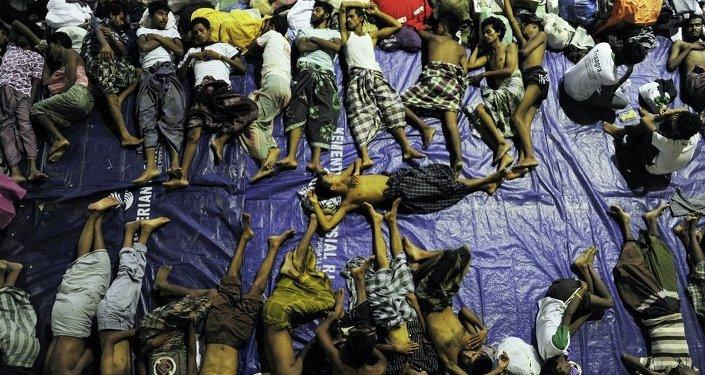 Myanmar göçmenler