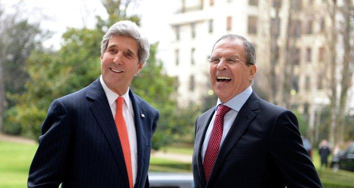 ABD Dışişleri Bakanı John Kerry, Rusya Dışişleri Bakanı Sergey Lavrov