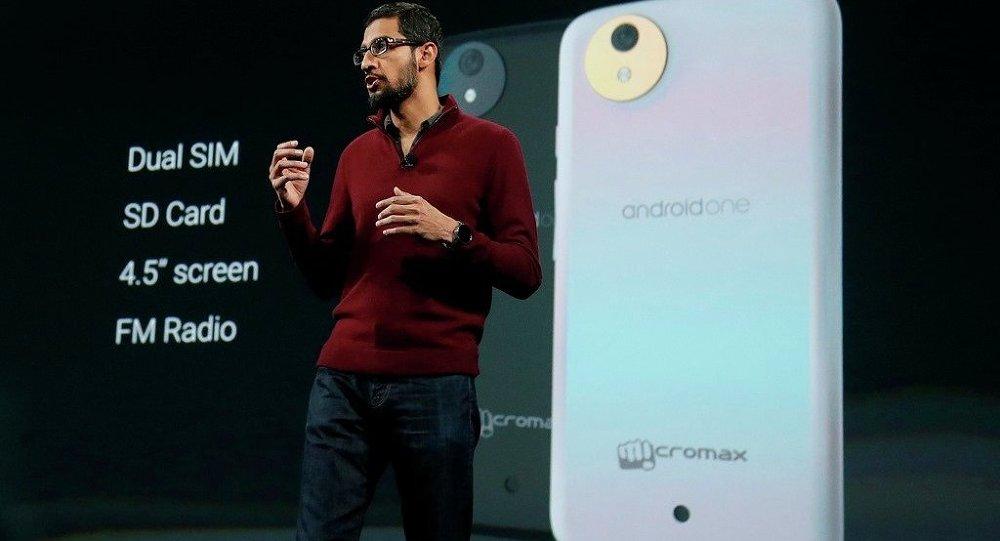 Akıllı telefon programı Android One