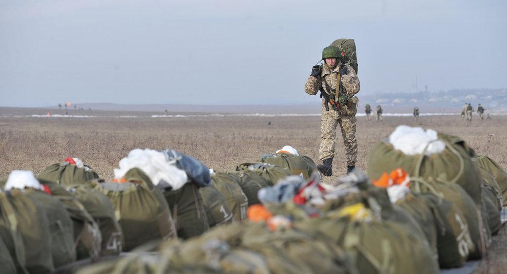 Rus paraşütçüler