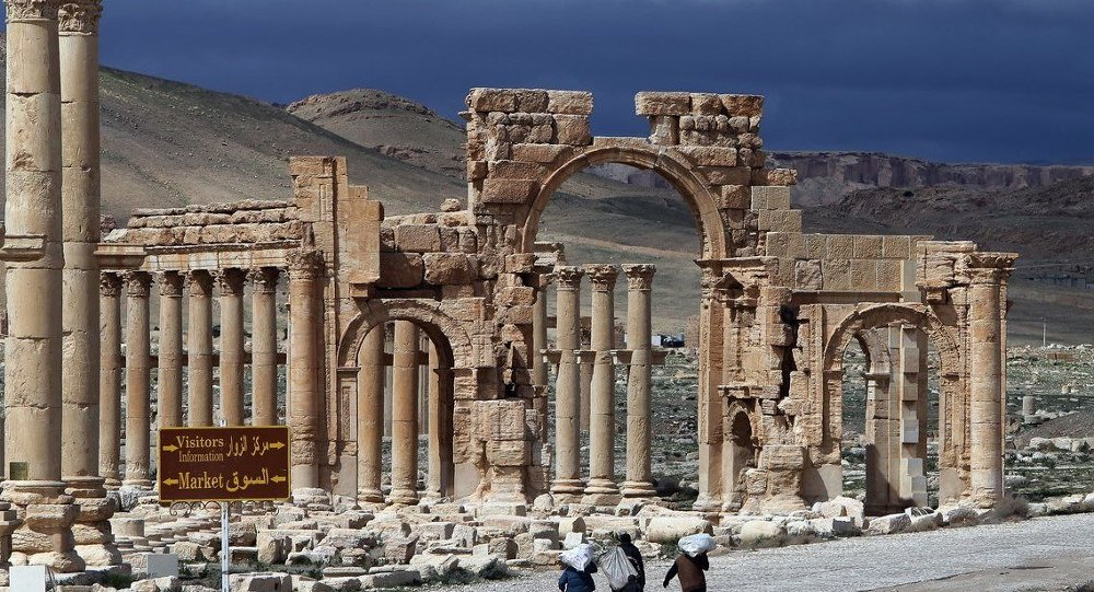 Suriye Palmyra antik kenti