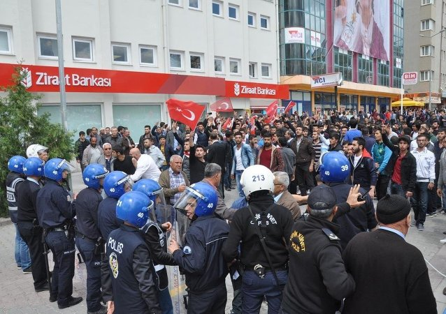 HDP'nin Kırşehir mitinginde gerginlik