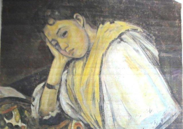 Paul Cezanne tablosu