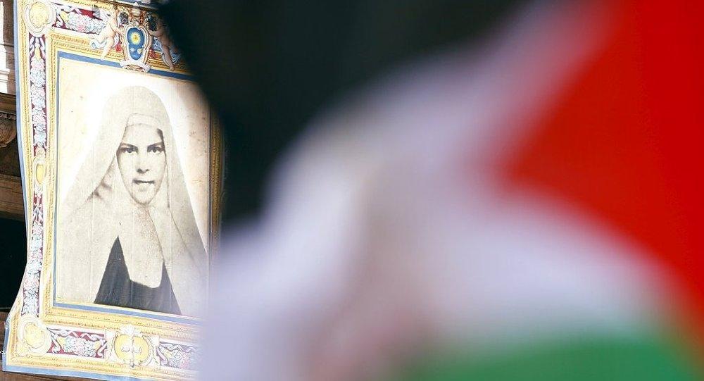 Vatikan'da iki Filistinli rahibe azize ilan edildi