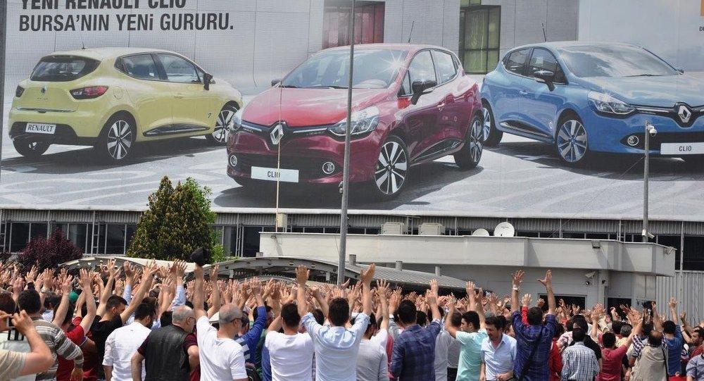 OYAK Renault fabrikasında