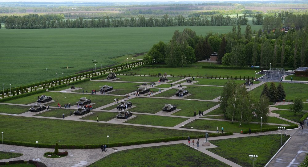 Prohorovka'daki tank parkı