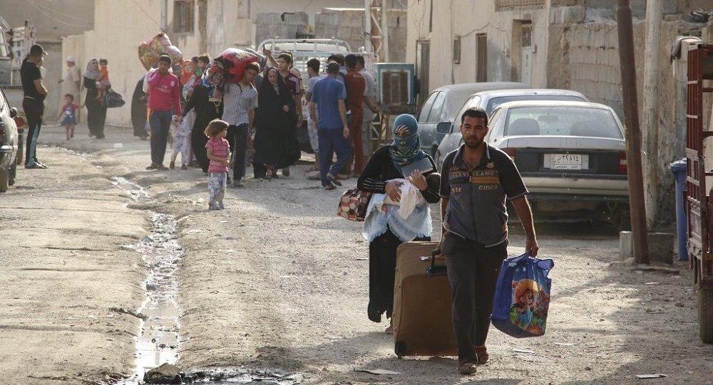 Irak Ramadi göç