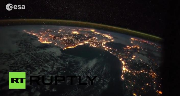 Uzay'dan Dünya manzaralar
