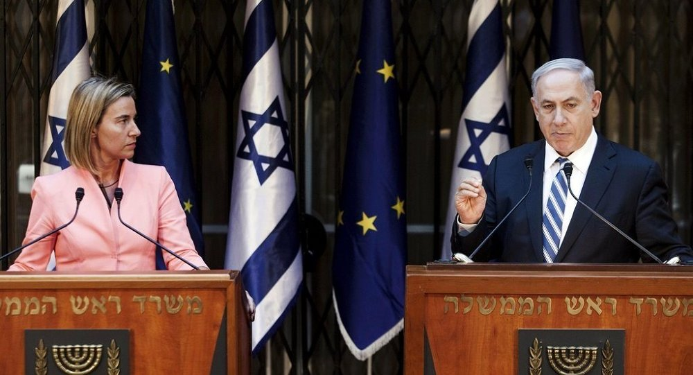 Federica Mogherini - Benyamin Netanyahu