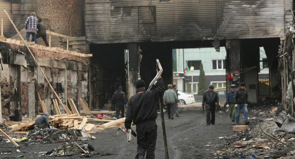 Grozni'deki terör saldırısı