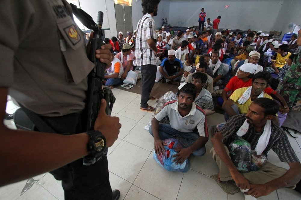 Güney Asya'daki göçmen trajedisi