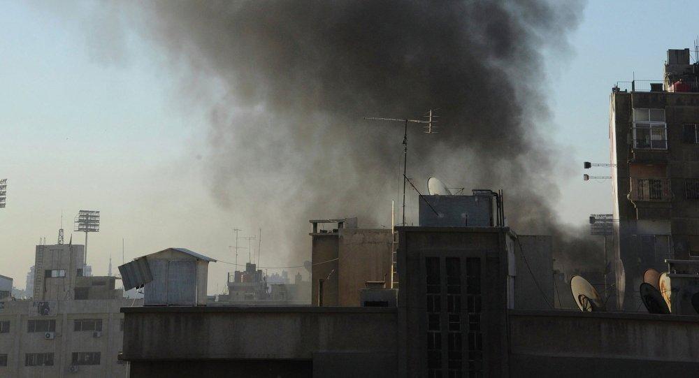 Şam'da hava saldırısı