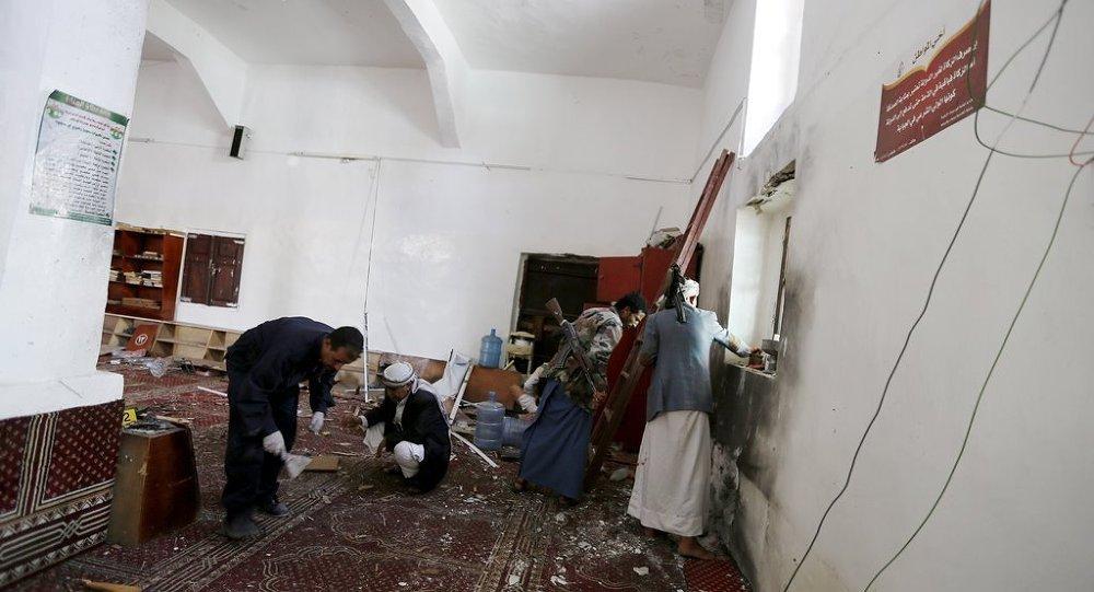 Yemen'de Şii camisine saldırı