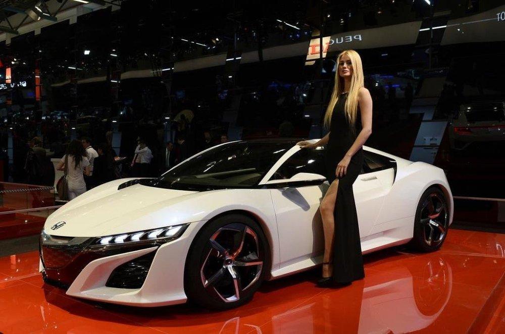 Fuarda Honda yeni modellerini tanıttı.