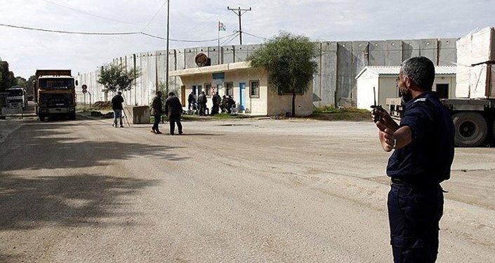 Gazze Kerm Ebu Salim Sınır Kapısı