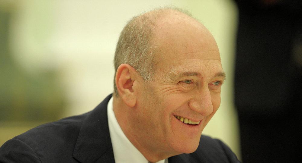 Eski İsrail Başbakanı Ehud Olmert