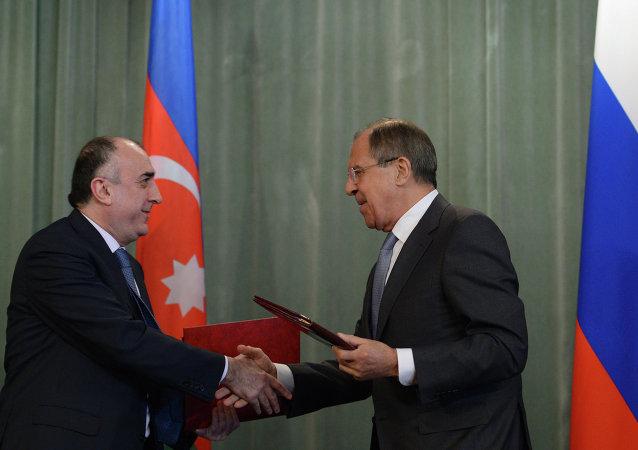 Sergey Lavrov & Elmar Memmedyarov