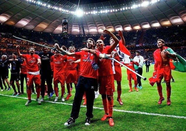 UEFA Avrupa Ligi'nin şampiyonu Sevilla oldu.