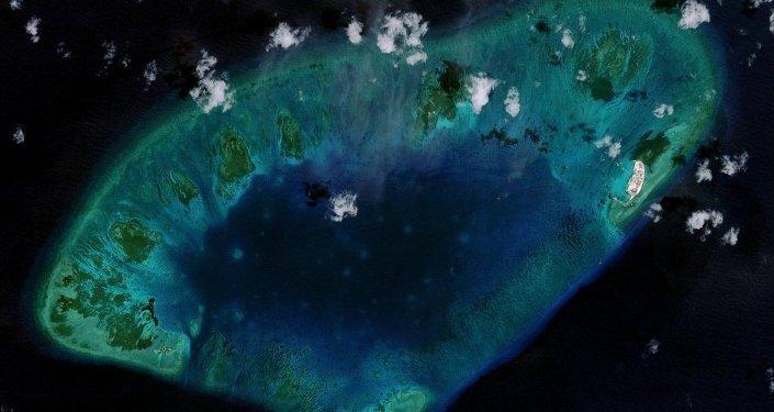 Güney Çin Denizi'nde yapay ada
