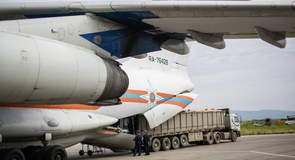 Rusya ve Ermenistan'dan Suriye'ye 100 ton insani yardım