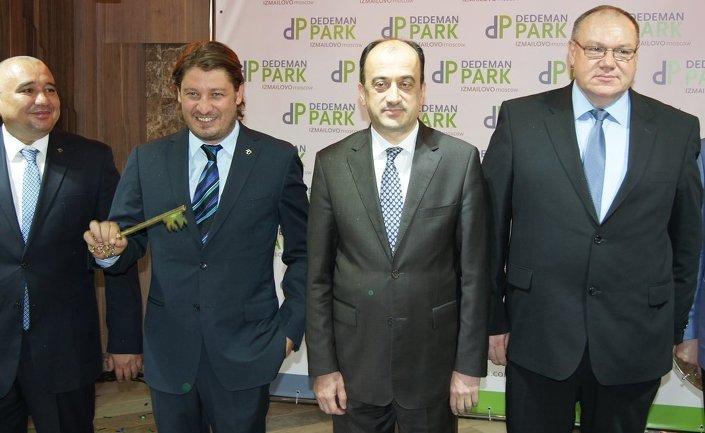 Dedeman Hotels & Resorts International, Moskova'da yeni otelin açılış töreni.